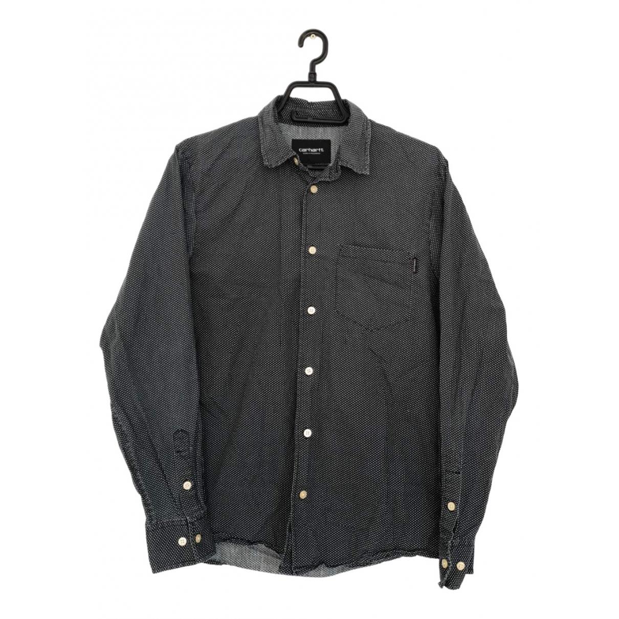 Carhartt Wip \N Black Cotton Shirts for Men M International