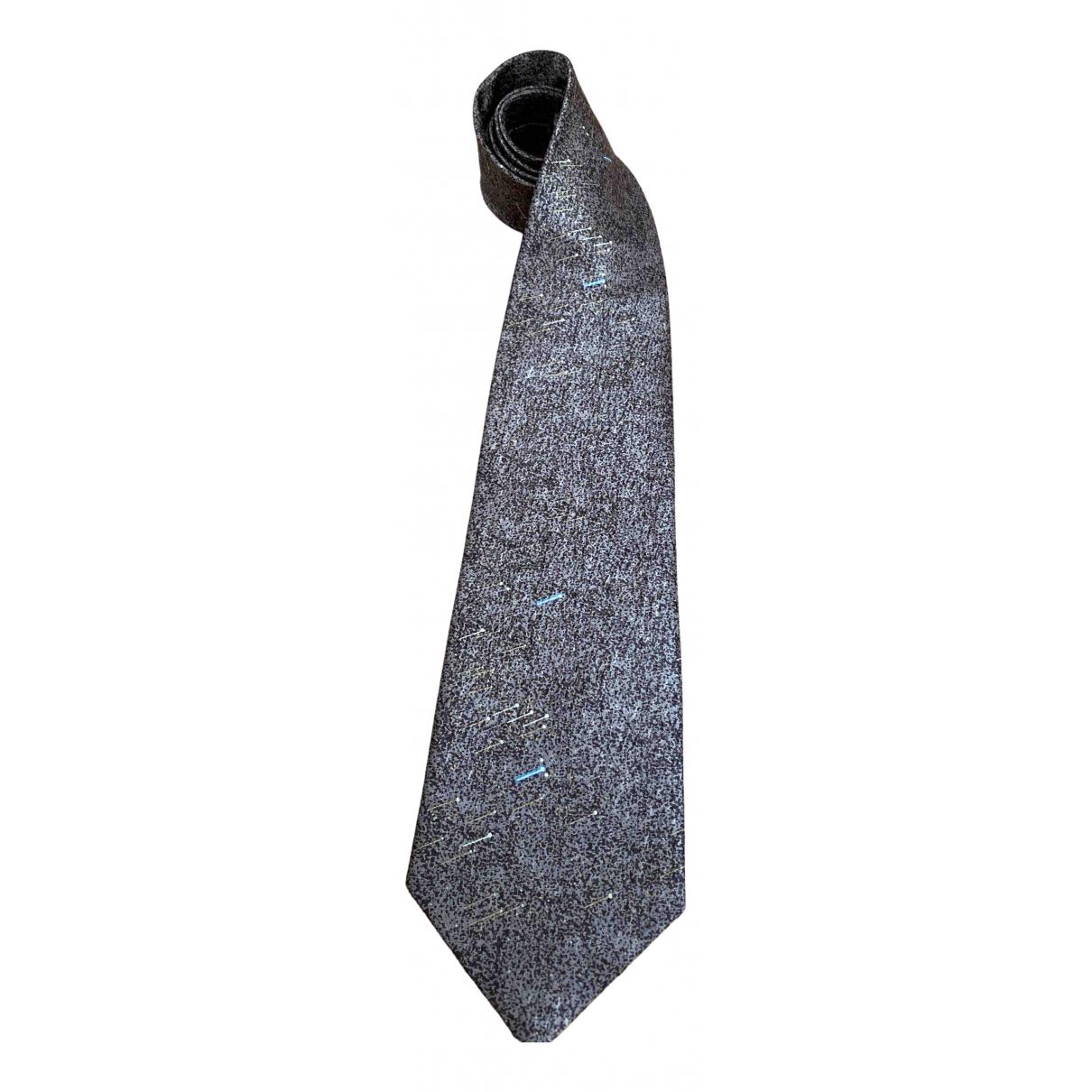 Givenchy \N Krawatten in  Braun Seide