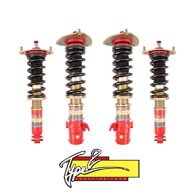 Function and Form F2-05STIT2 Type 2 Coilovers w/Adjustable Damping Subaru WRX STi 05-07