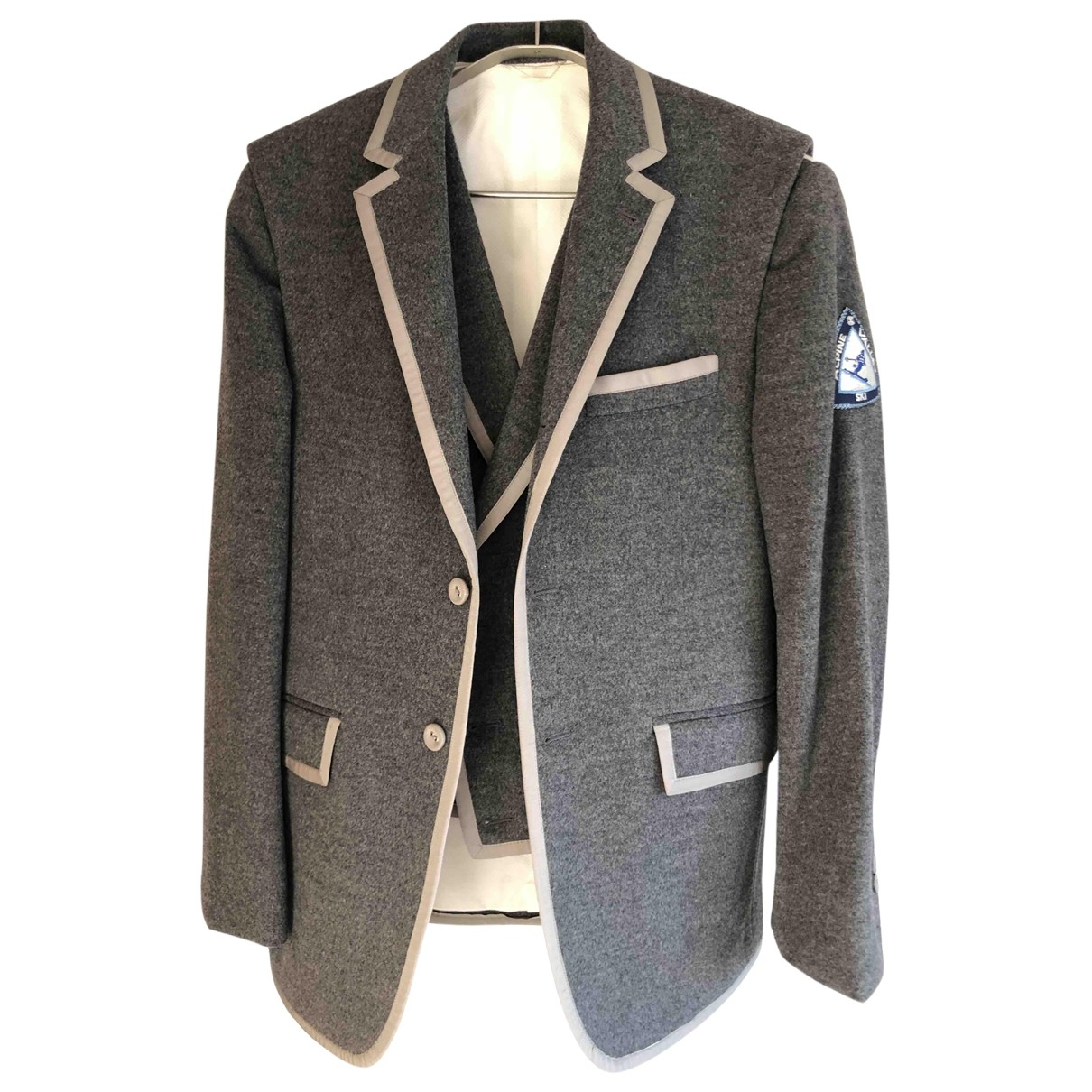 Thom Browne \N Grey Wool jacket  for Men 1 0 - 6