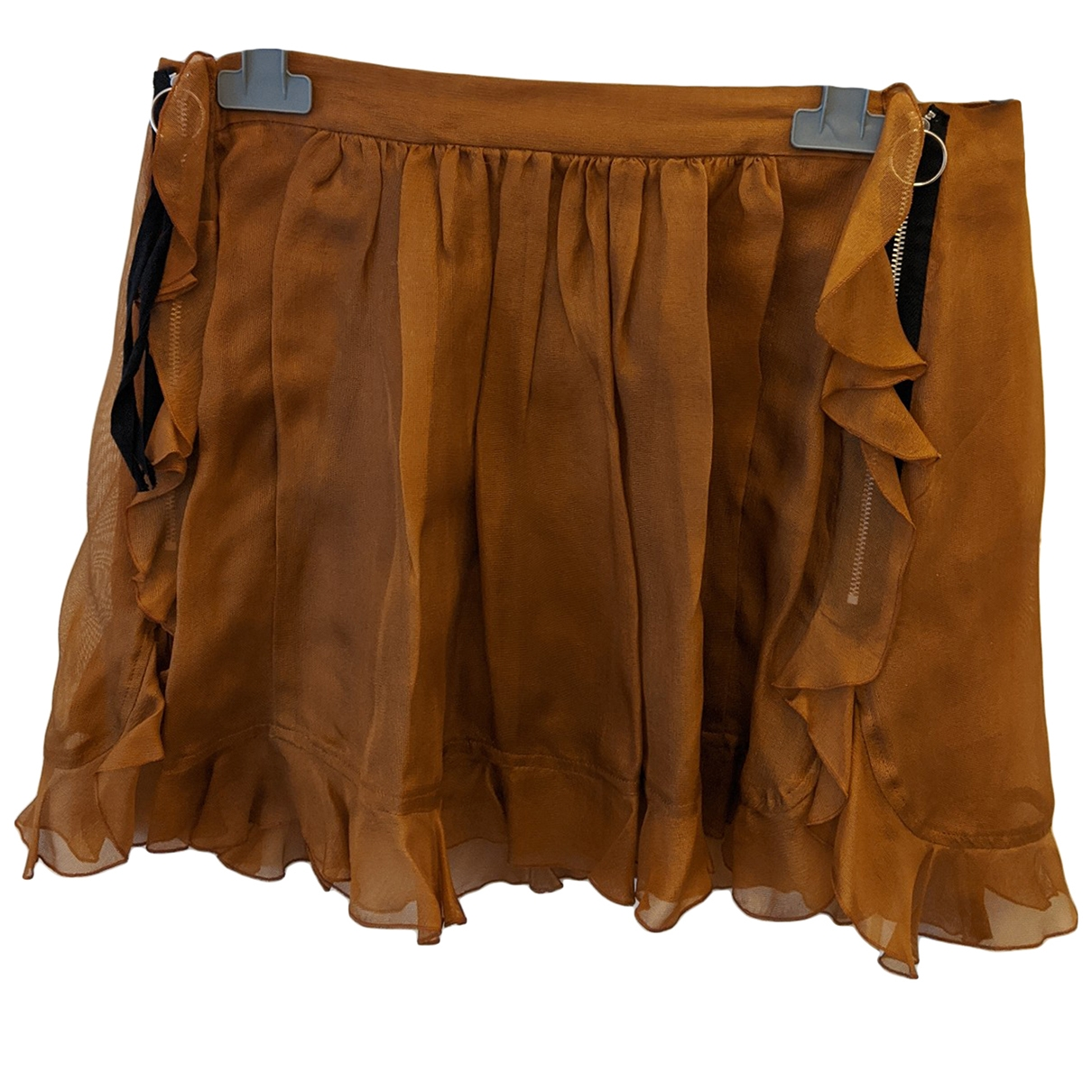 Toga Archives \N Brown Silk skirt for Women 1 0-5