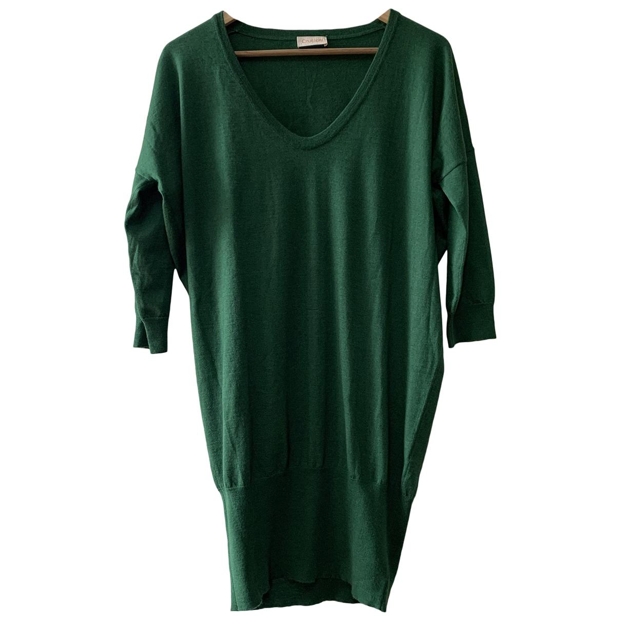 Cruciani - Robe   pour femme en cachemire - vert