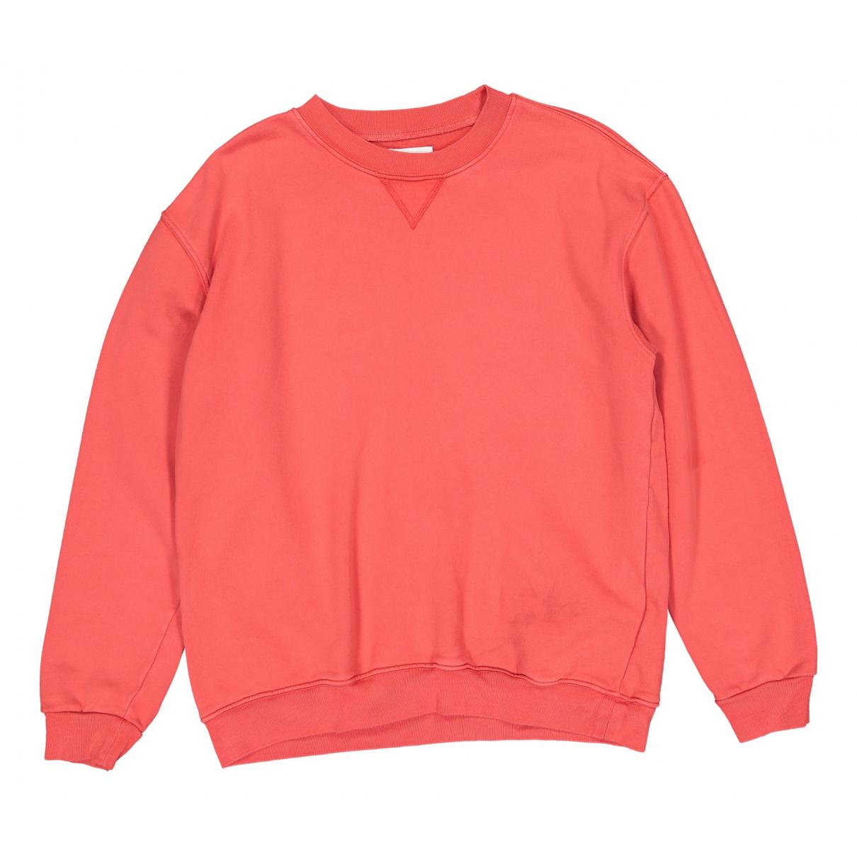Anine Bing - Pull   pour femme en coton - rouge