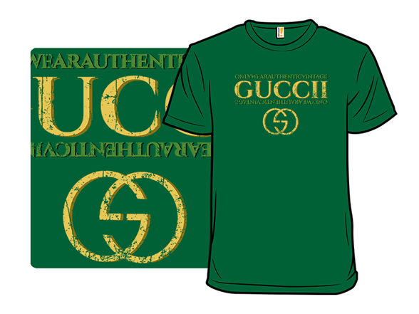 Always Wear Authentic Guccii T Shirt
