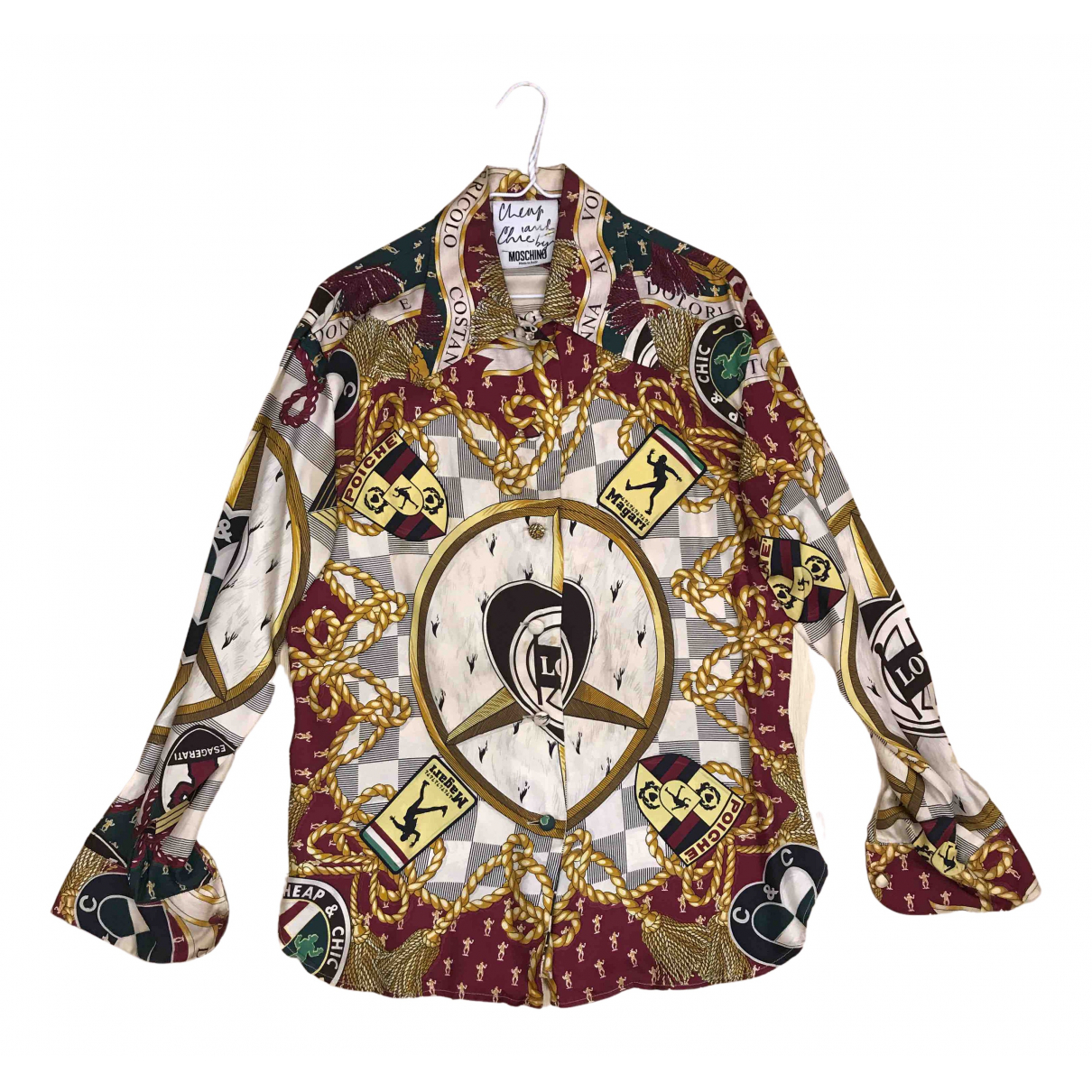 Moschino Cheap And Chic - Top   pour femme en soie
