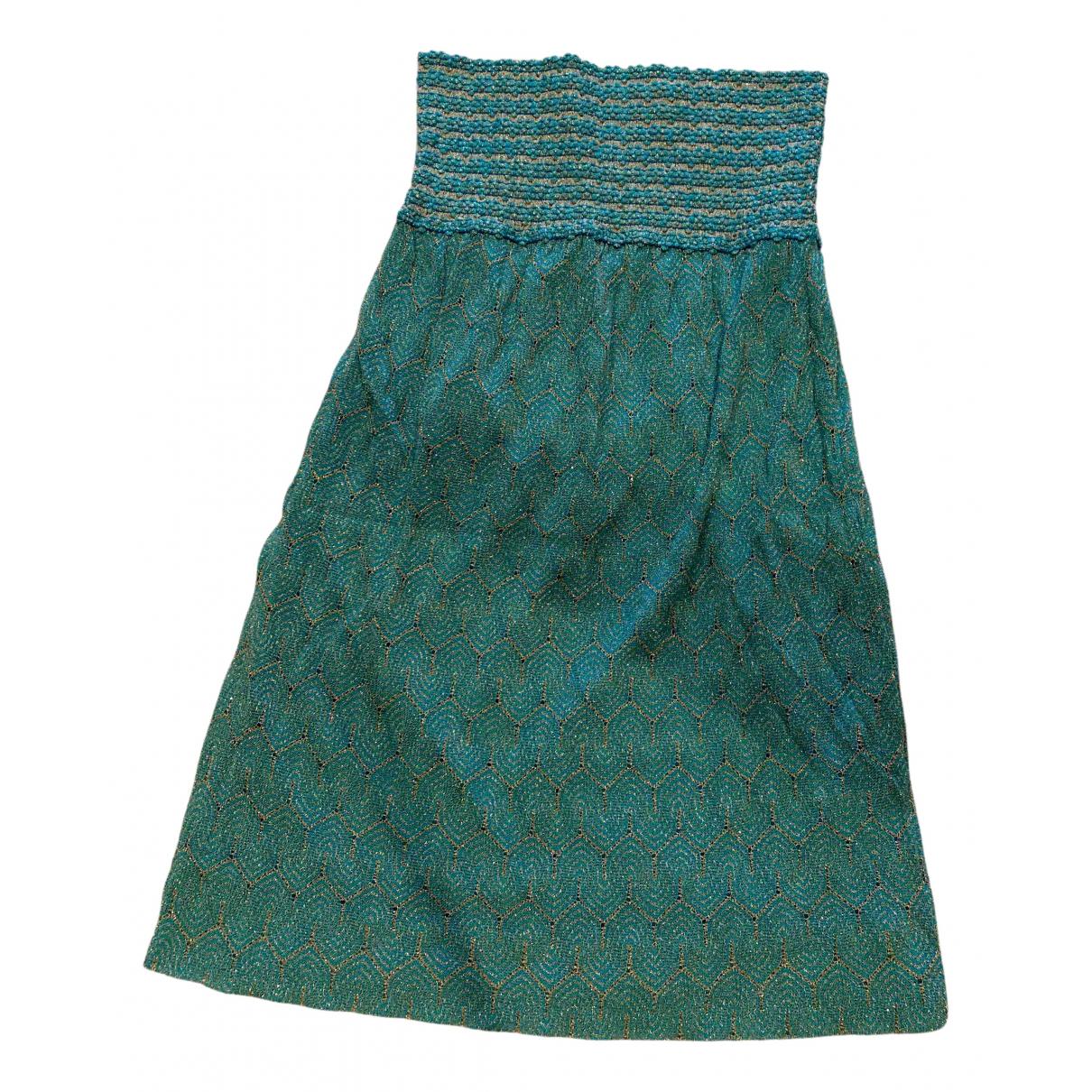 Missoni - Robe   pour femme - turquoise