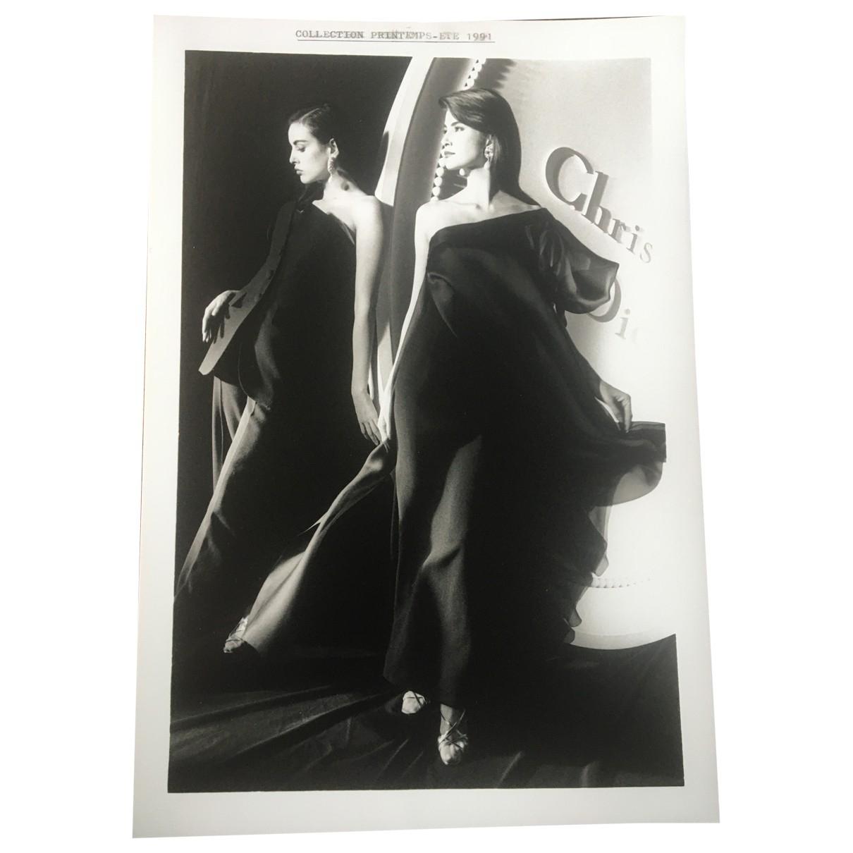 Dior \N Fotografie Schwarz