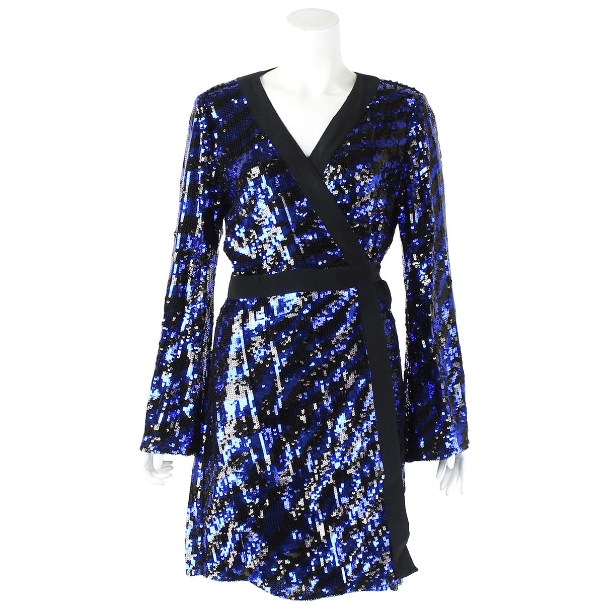Rixo \N Blue Glitter dress for Women 10 UK