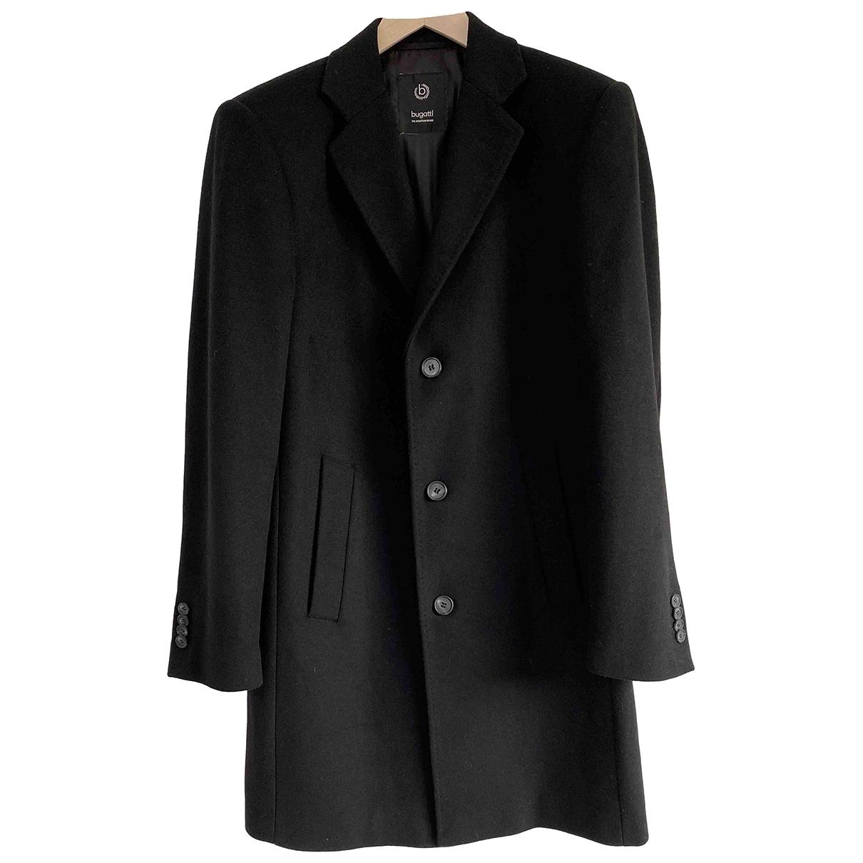 Bugatti - Vestes.Blousons   pour homme en laine - noir