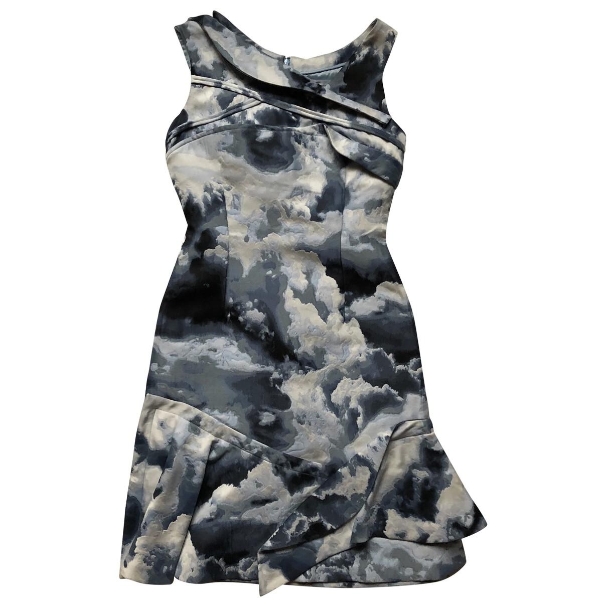 Carolina Herrera \N Kleid in  Blau Polyester