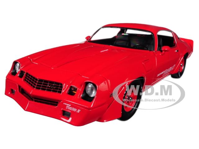1981 Chevrolet Camaro Z/28 Yenko Turbo Z Red 1/18 Diecast Model Car by Greenlight
