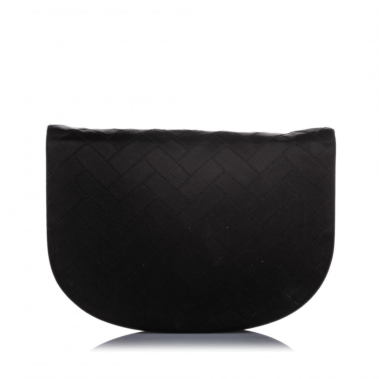 Yves Saint Laurent - Pochette   pour femme en toile - noir