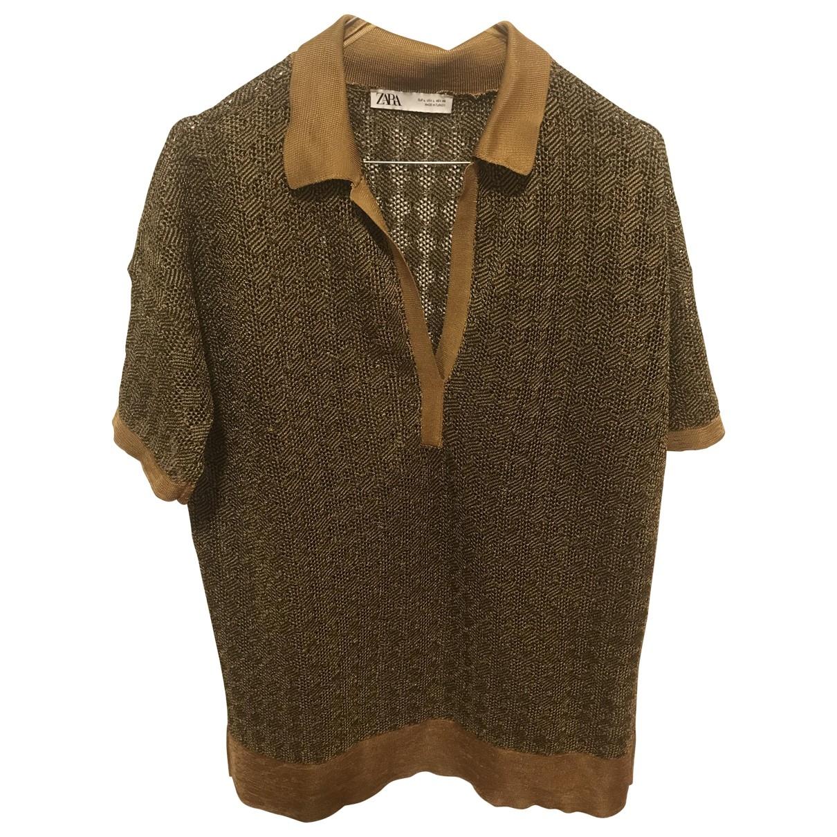 Zara \N Gold Knitwear for Women L International