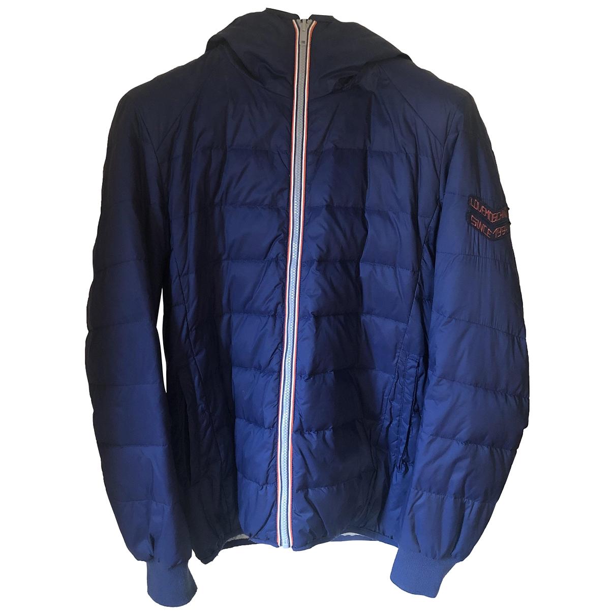 Moschino Love - Manteau   pour homme en coton - bleu