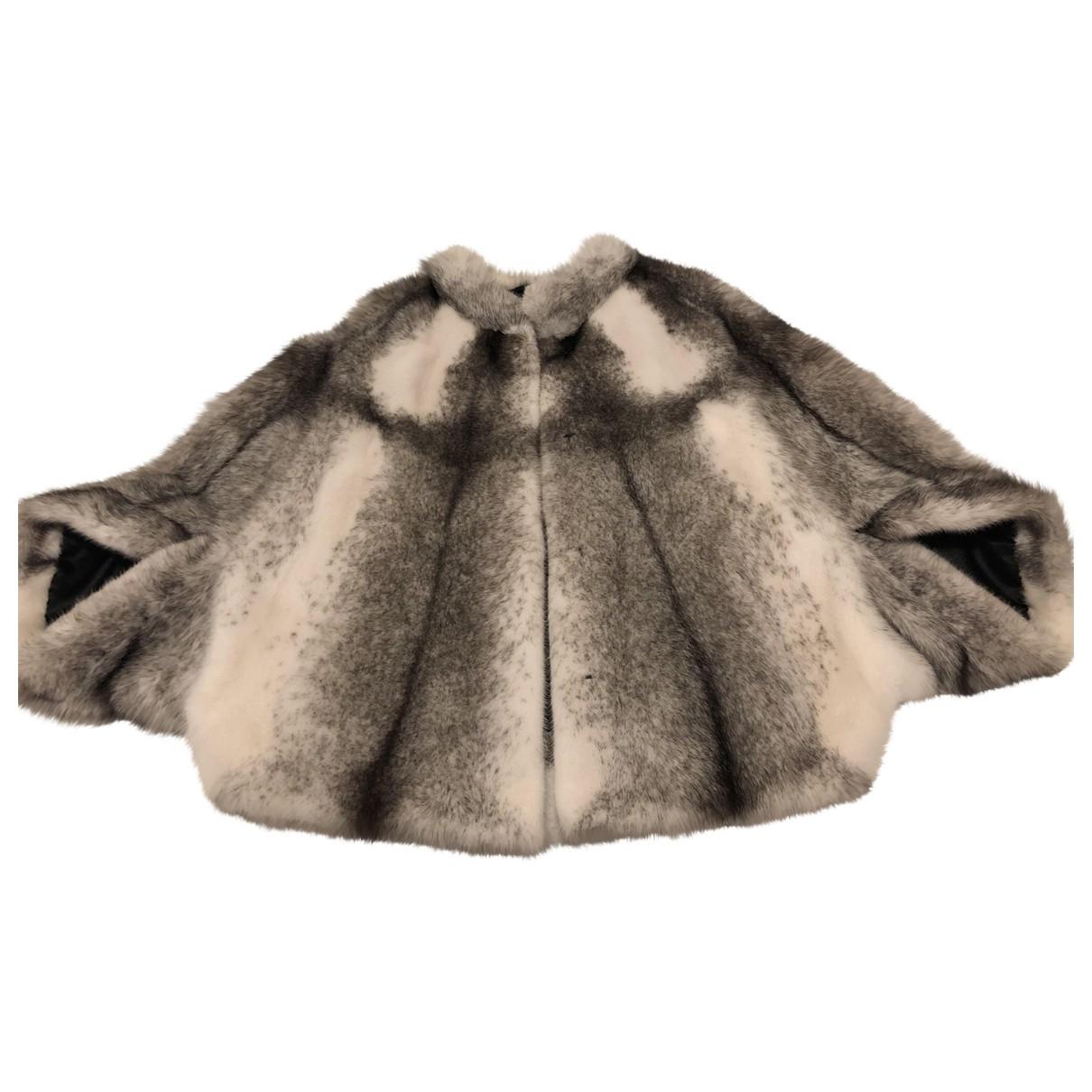 Saga Furs - Veste   pour femme en vison - gris