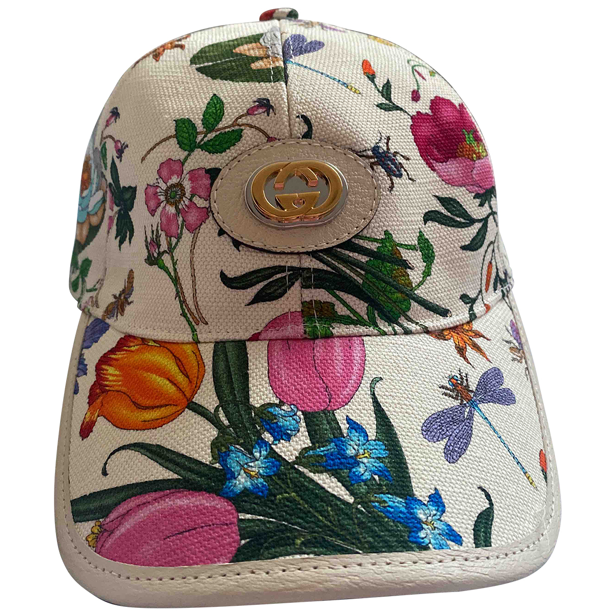 Gucci \N White Leather hat for Women XS International