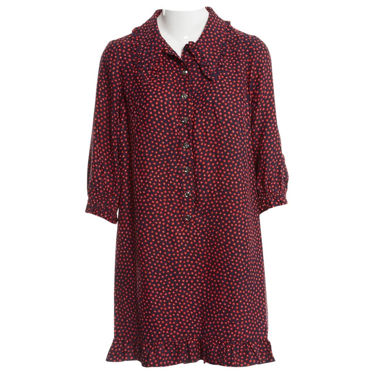 Azzaro - Robe   pour femme en soie - marine