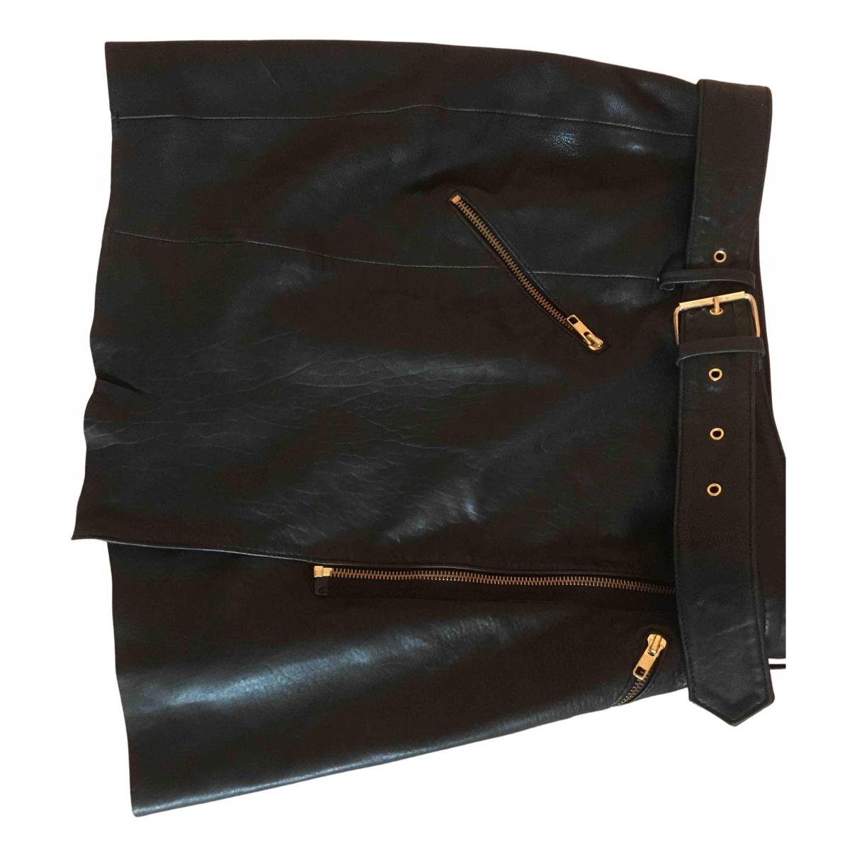 Mini falda de Cuero The Kooples