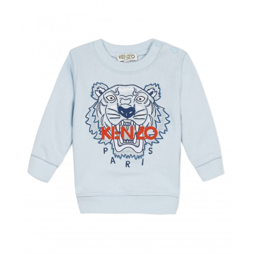 Kenzo Tiger Sweatshirt Size: 1 YEARS, Colour: BLUE