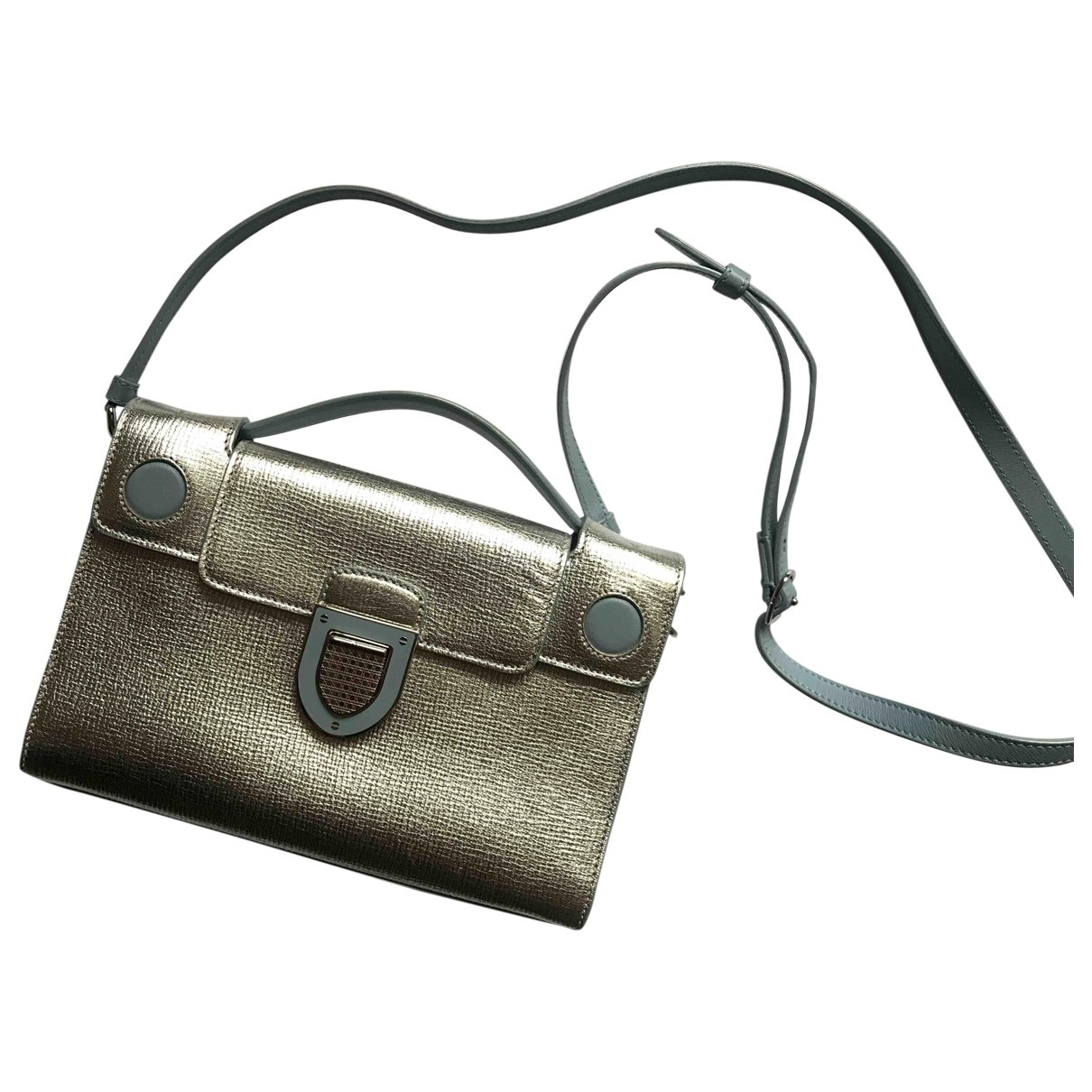 Dior Diorever Metallic Leather handbag for Women \N