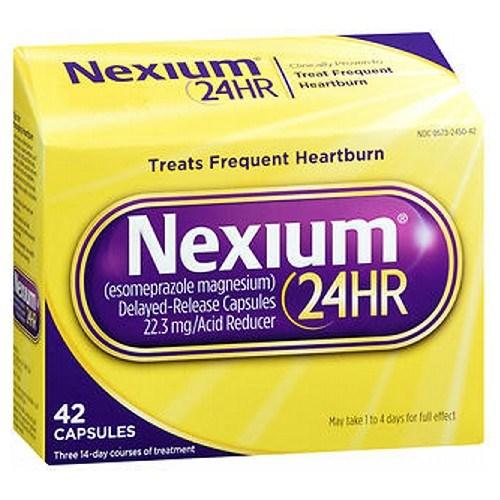 Nexium 24HR 42 Caps by Nexium 24HR