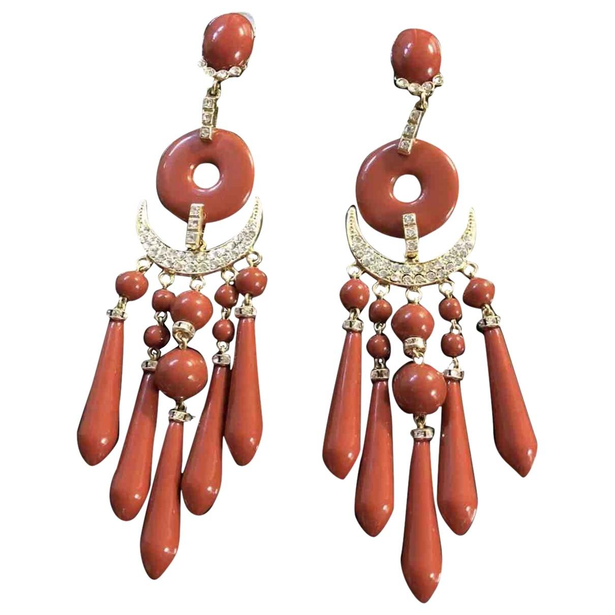 - Boucles doreilles   pour femme - rouge