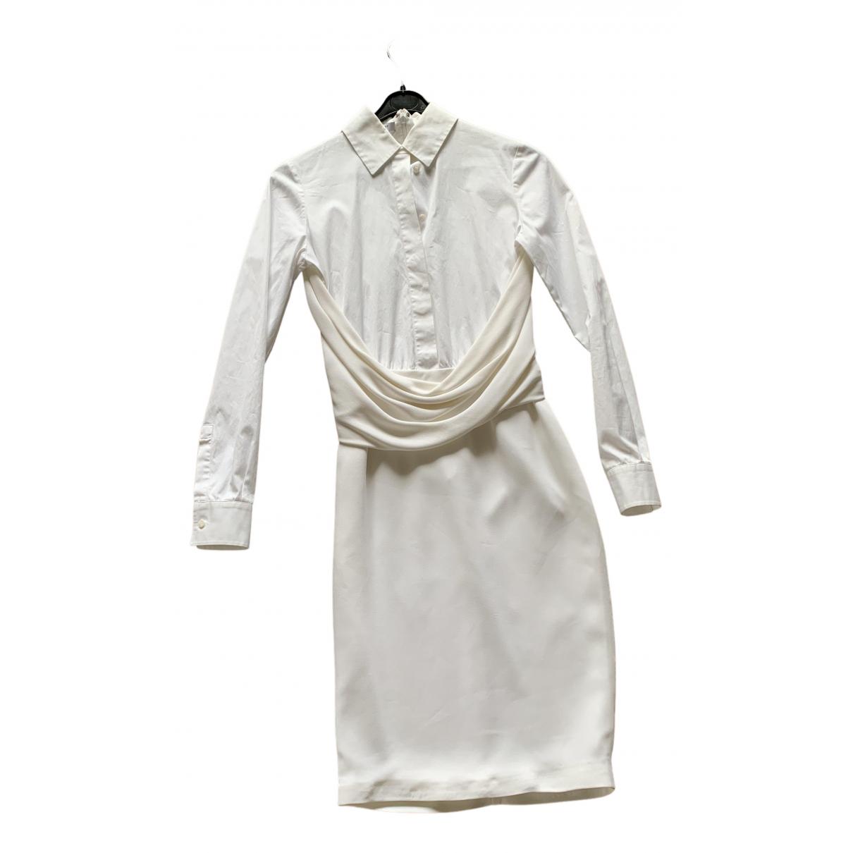 Givenchy - Robe   pour femme en coton - blanc
