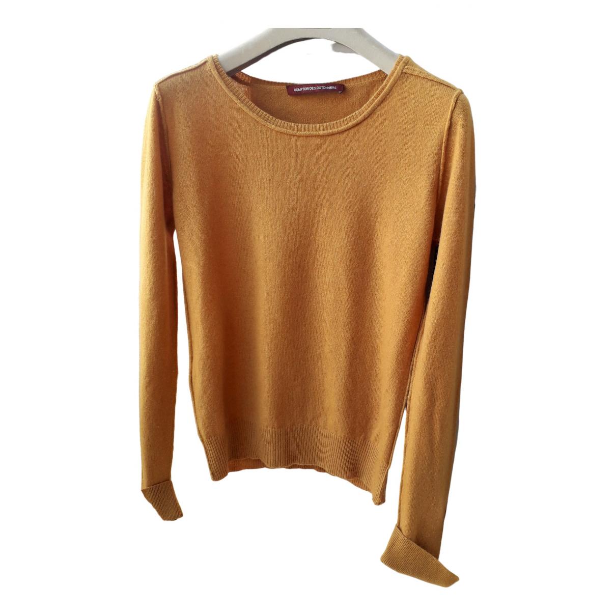 Comptoir Des Cotonniers - Pull   pour femme en laine - jaune