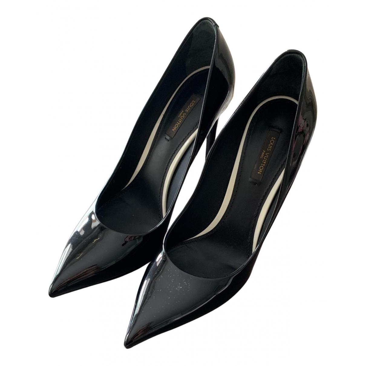 Louis Vuitton N Black Patent leather Heels for Women 39.5 EU