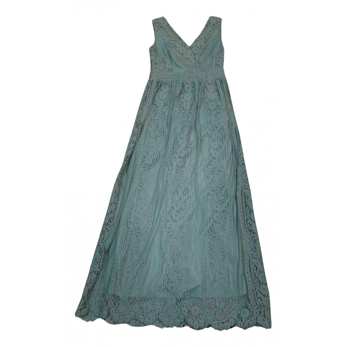 Esprit \N Kleid in  Gruen Polyester