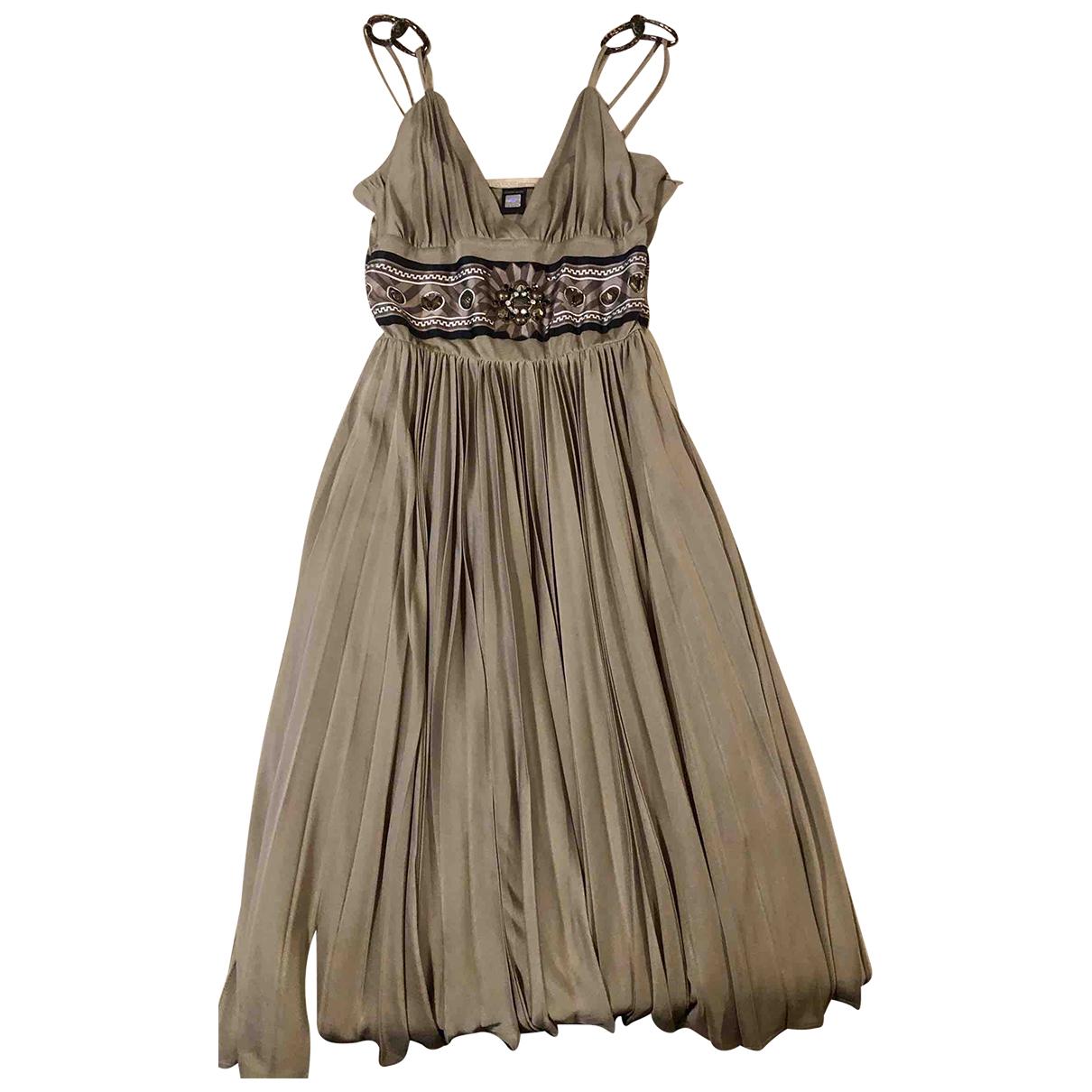 Class Cavalli N Camel dress for Women 36 FR