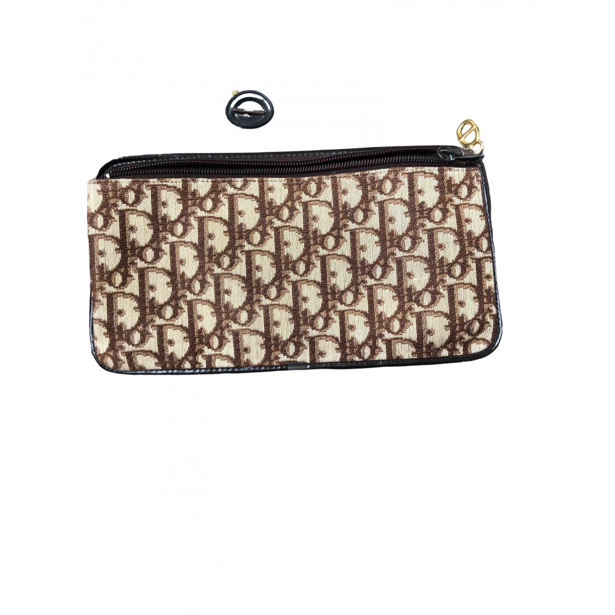 Dior \N Brown Cloth Clutch bag for Women \N