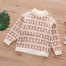 Pullover mit Argyle Muster