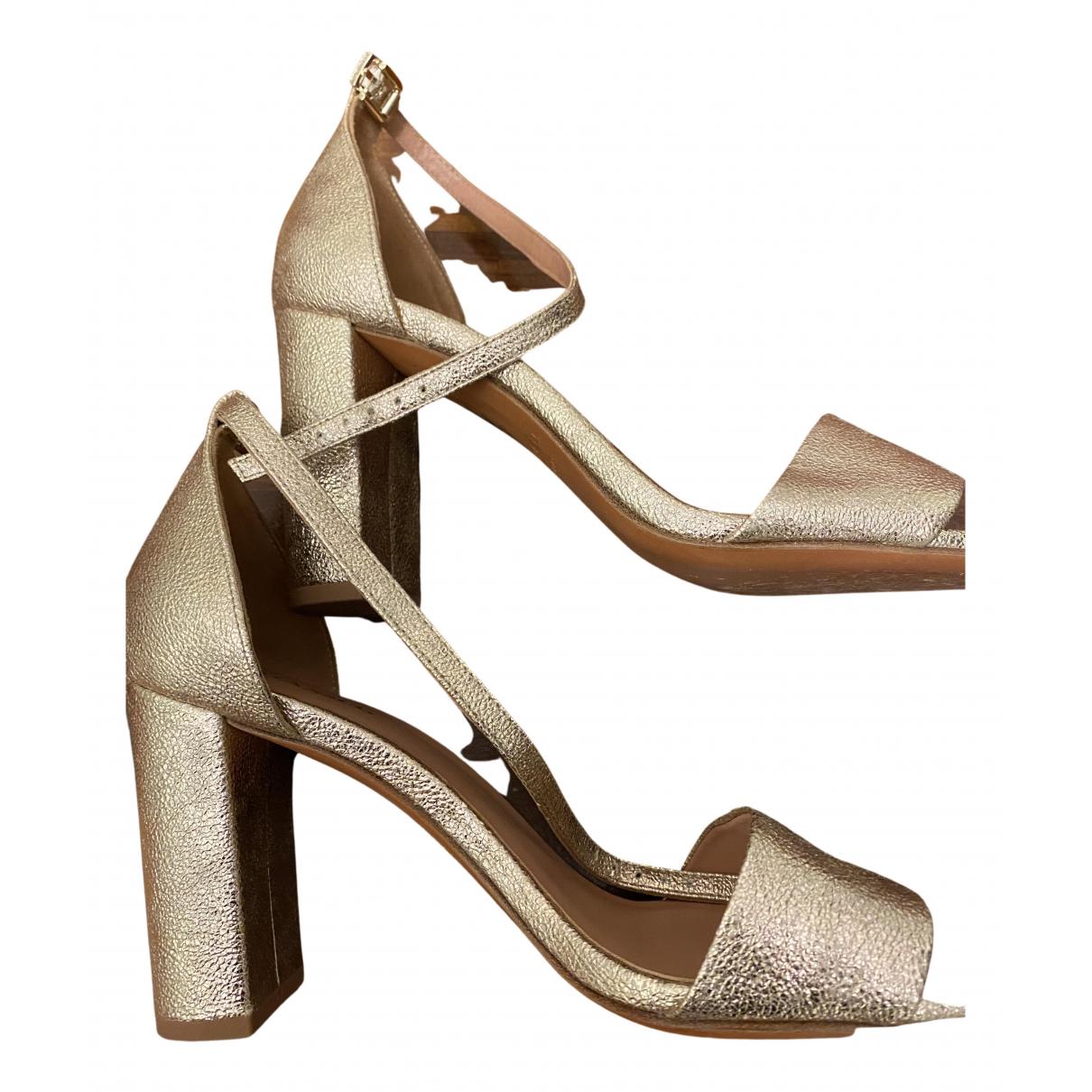 Sandalias de Cuero Max & Co