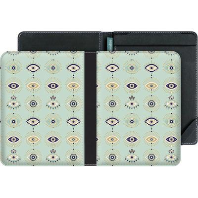 tolino vision 3 HD eBook Reader Huelle - Evil Eyes Mint von Cat Coquillette