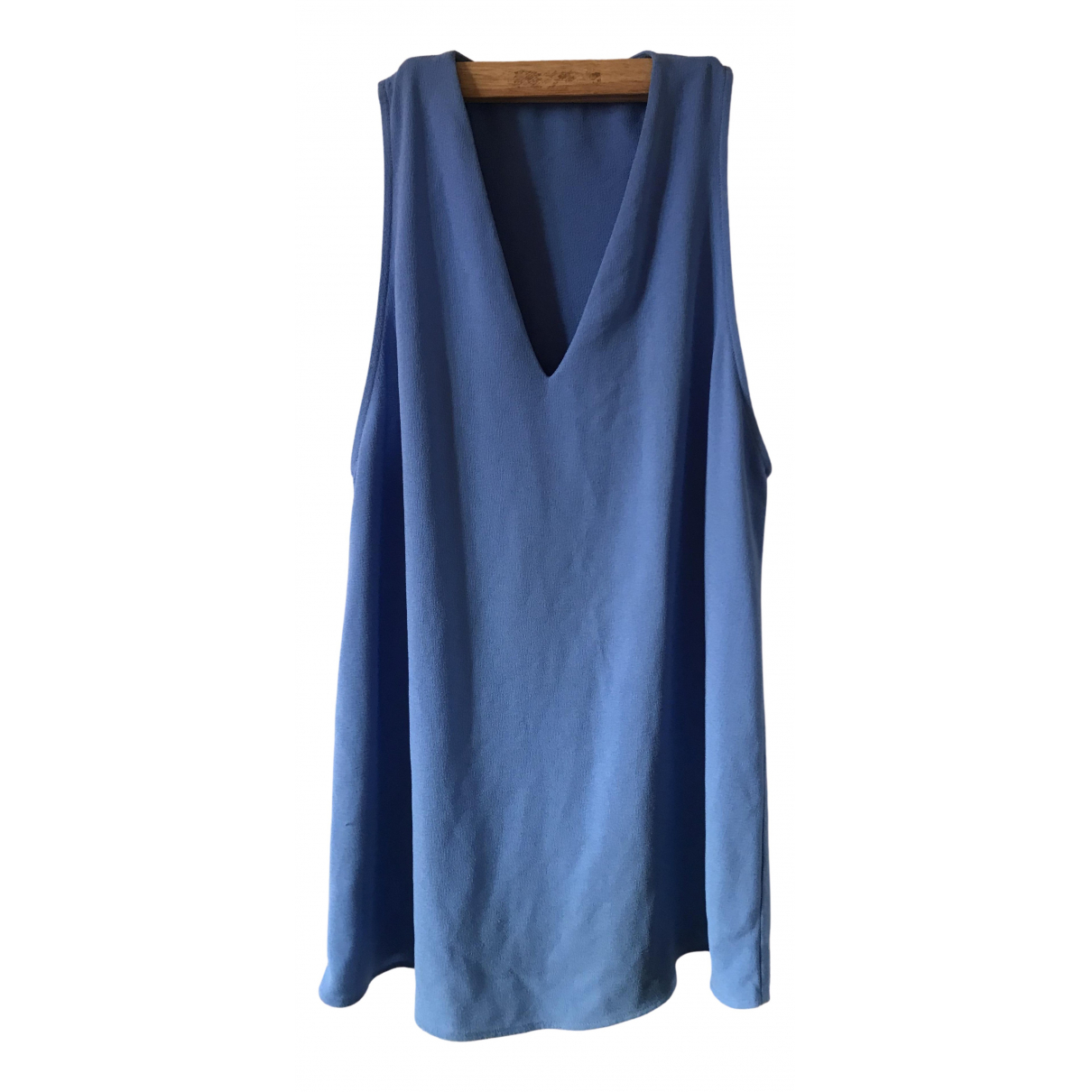 American Apparel \N Kleid in  Blau Polyester