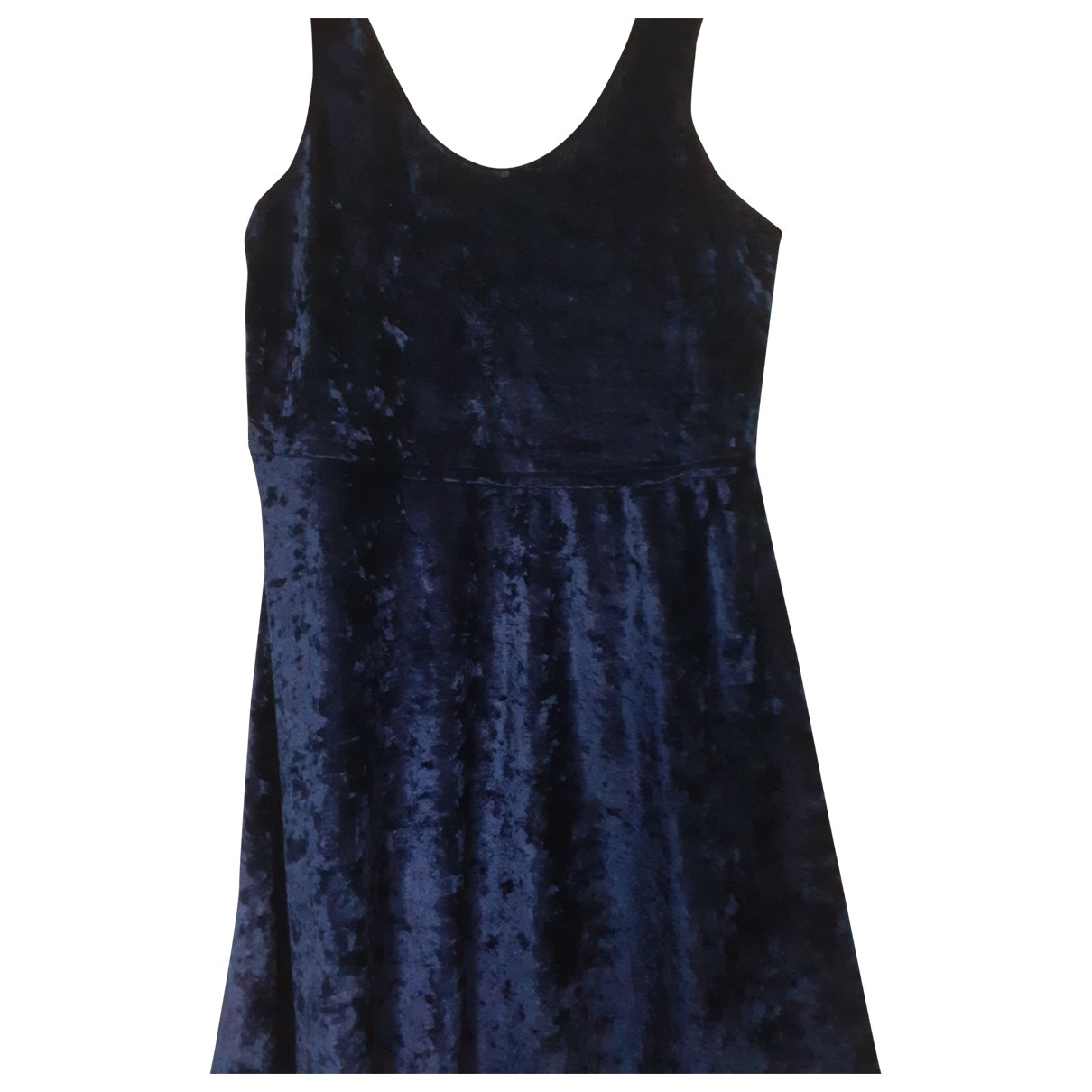 Non Signe / Unsigned \N Kleid in  Blau Synthetik