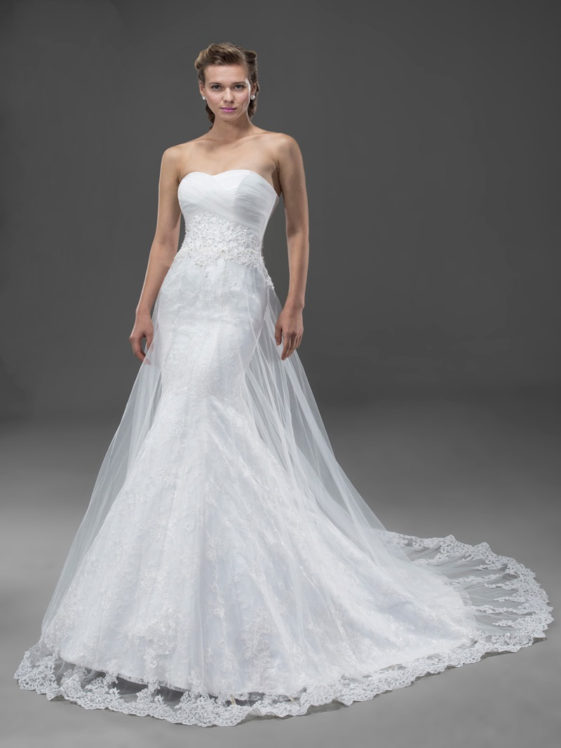 High-quality Mermaid Sweetheart Wedding Dress