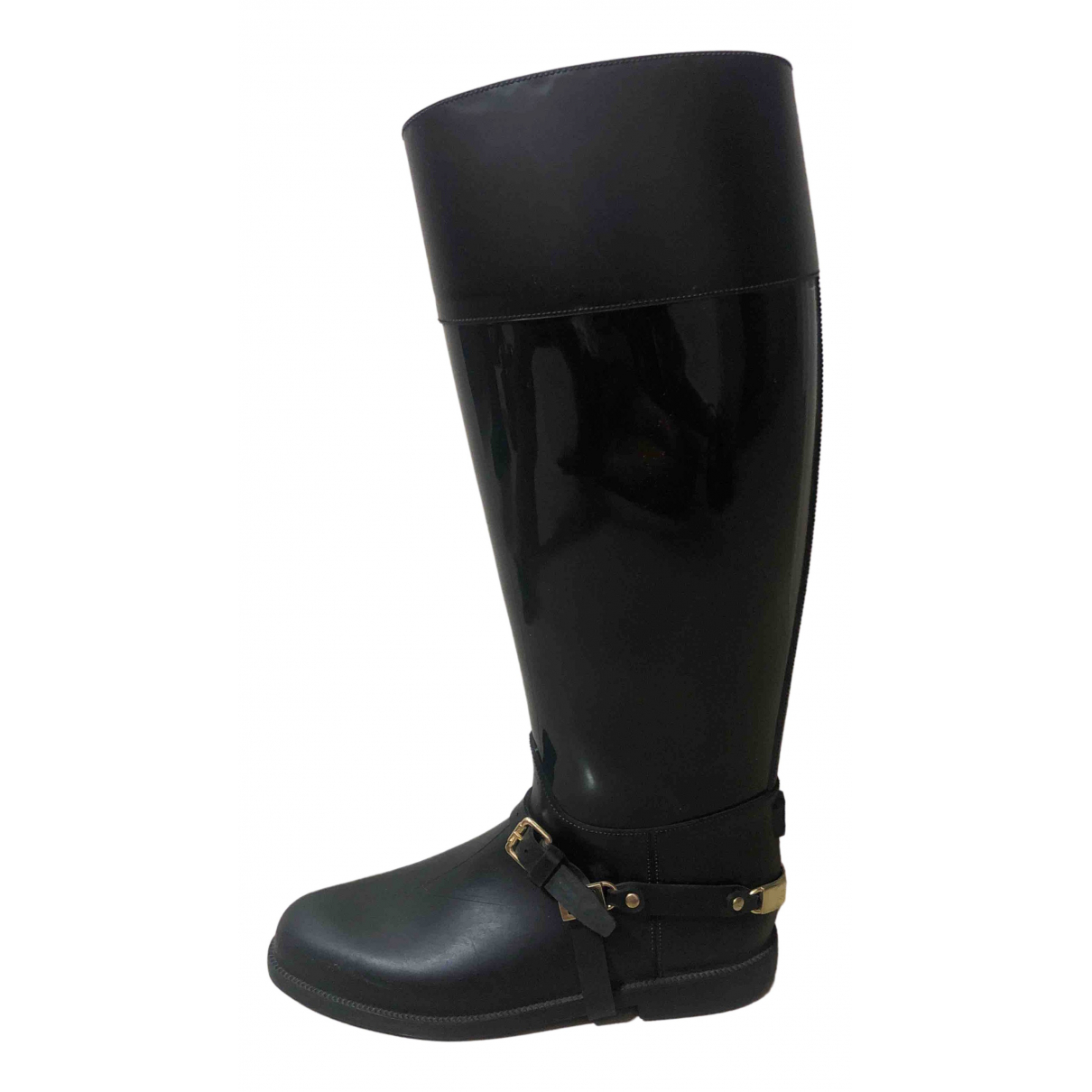 Jimmy Choo \N Black Rubber Boots for Women 39 EU