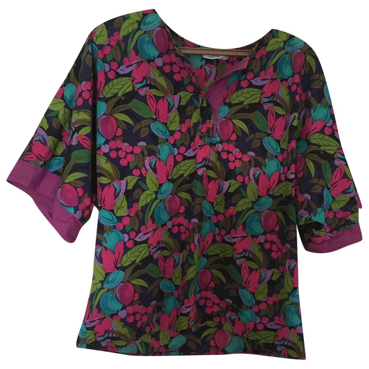 Dior - Top   pour femme en coton - multicolore