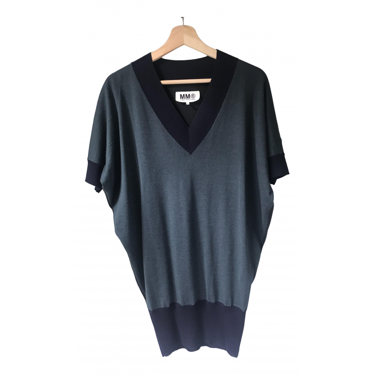 Maison Martin Margiela \N Blue Wool  top for Women M International