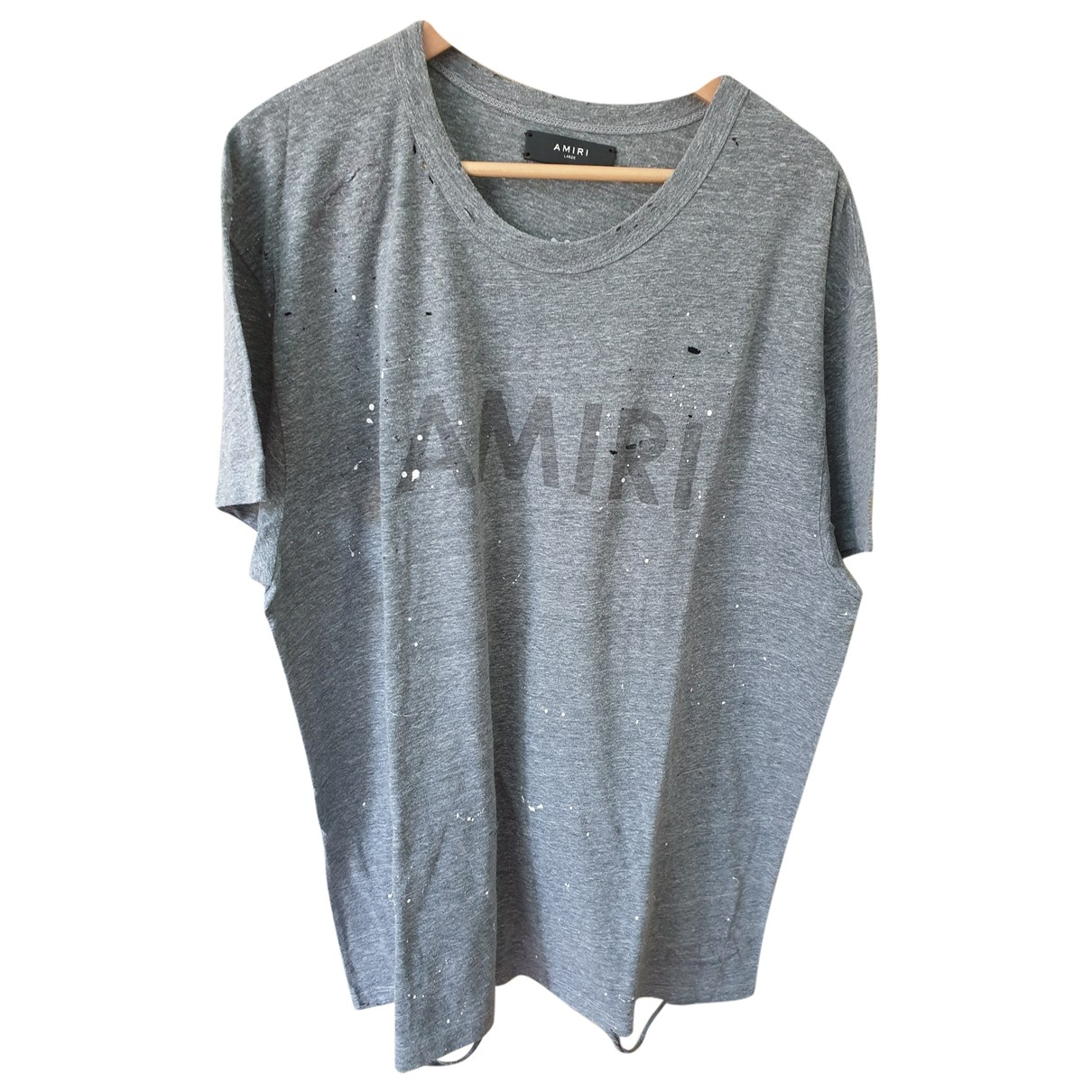 Amiri - Tee shirts   pour homme en coton - gris