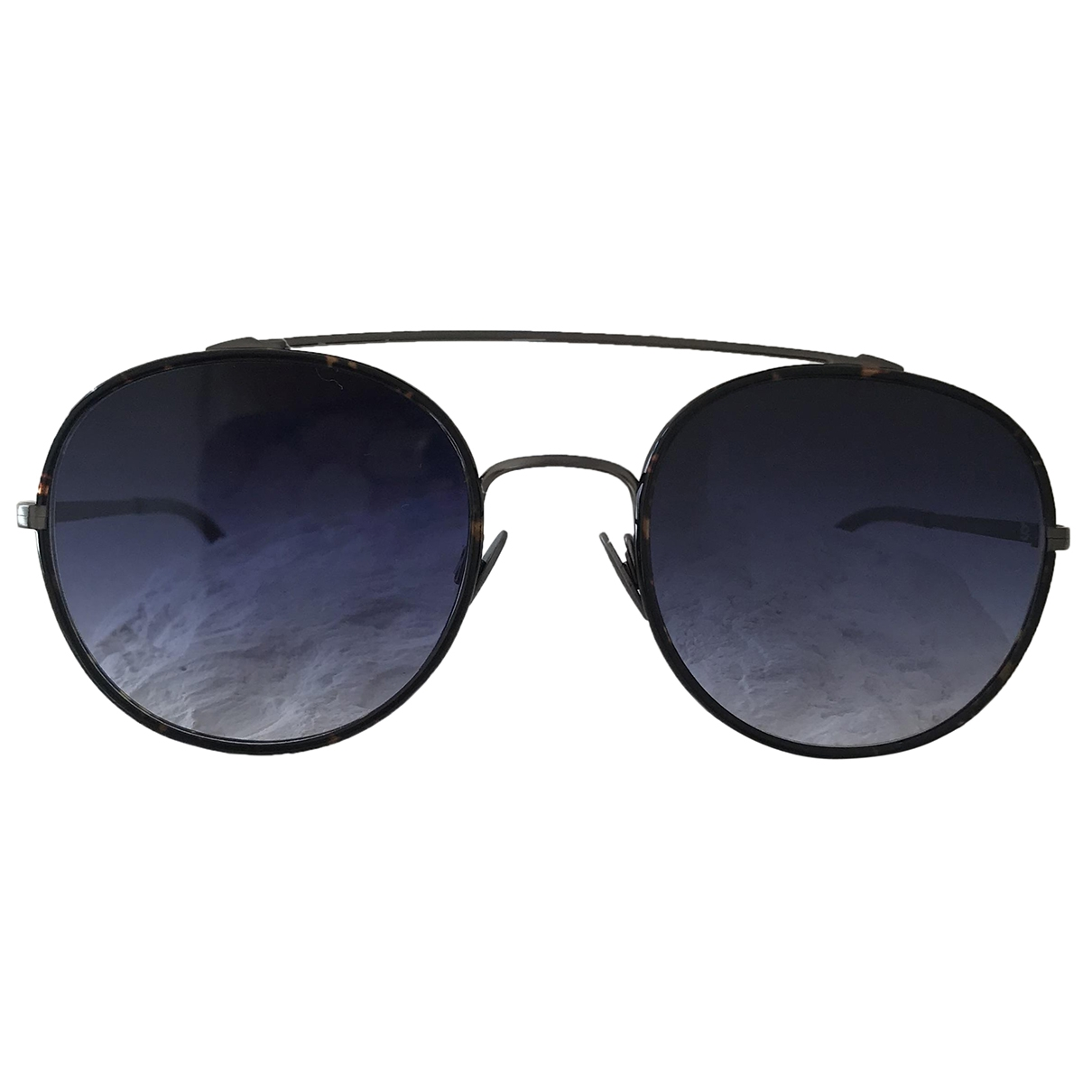 Sunday Somewhere \N Anthracite Metal Sunglasses for Men \N