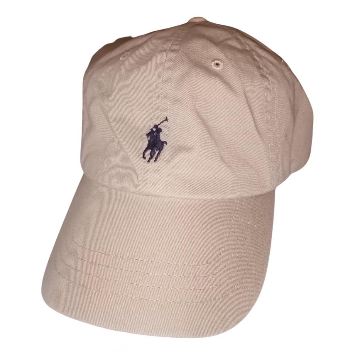 Polo Ralph Lauren - Chapeau & Bonnets   pour homme en coton - beige