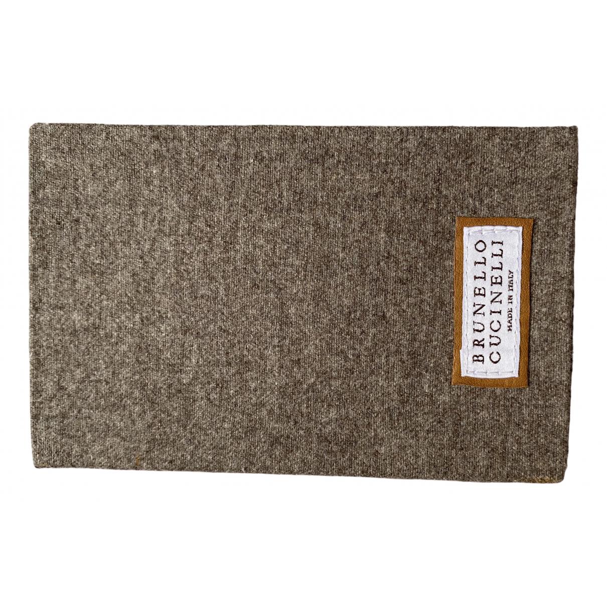 Brunello Cucinelli - Objets & Deco   pour lifestyle en laine - anthracite