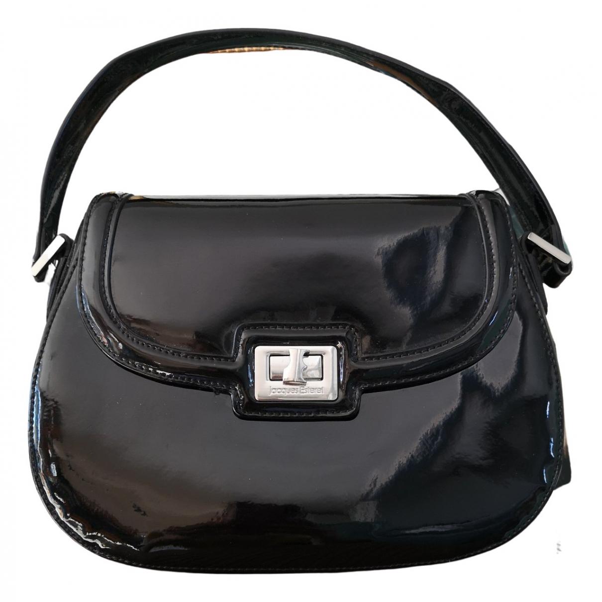 Jacques Esterell \N Handtasche in  Schwarz Leder