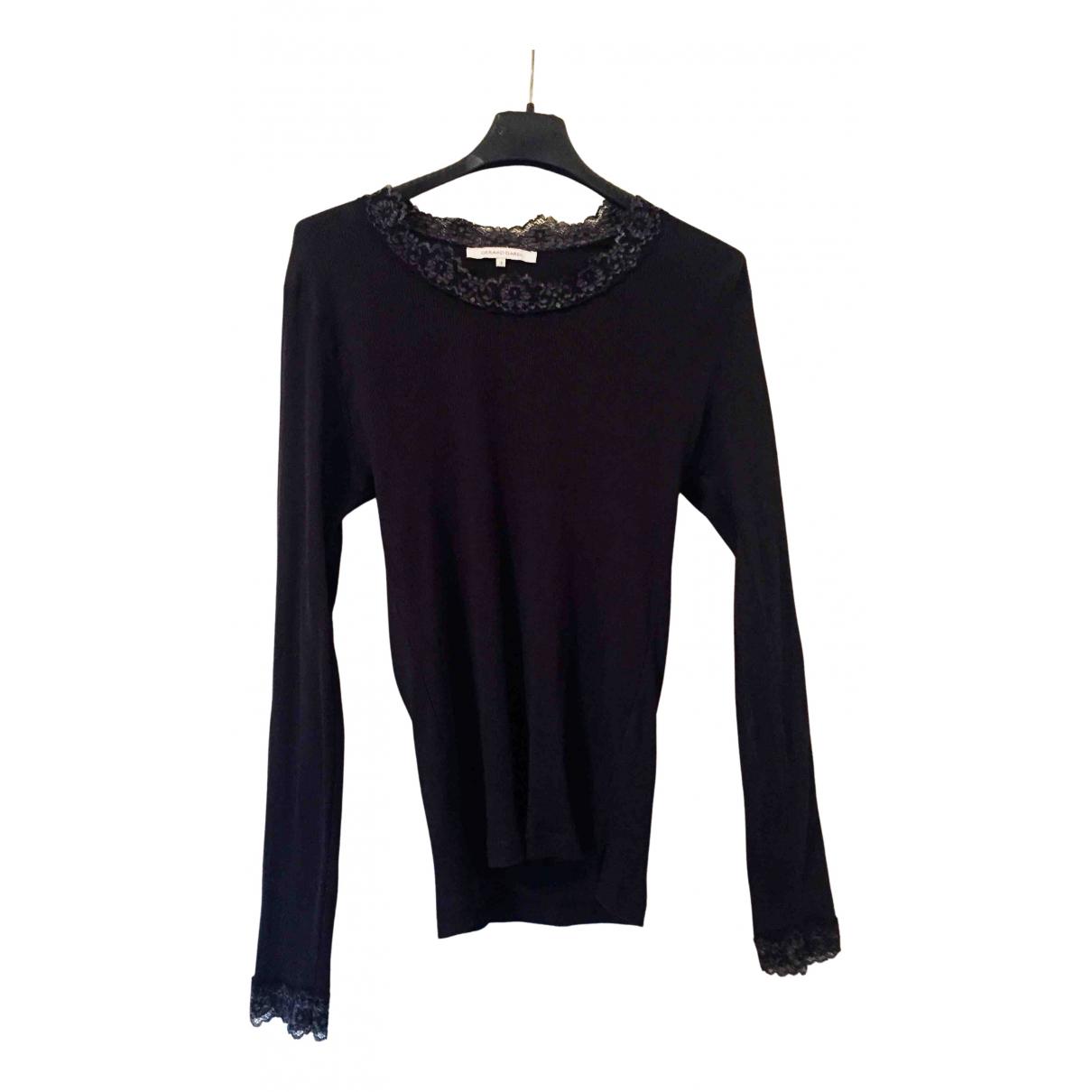 Gerard Darel - Top   pour femme en coton - noir