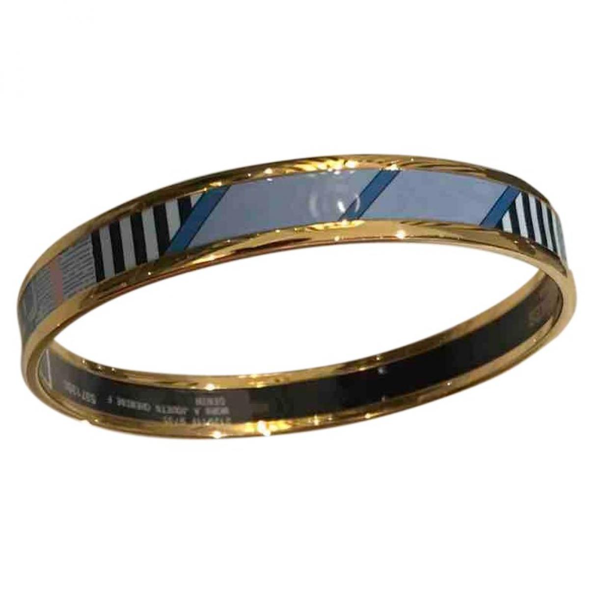 Hermès Bracelet Email Blue Metal bracelet for Women \N