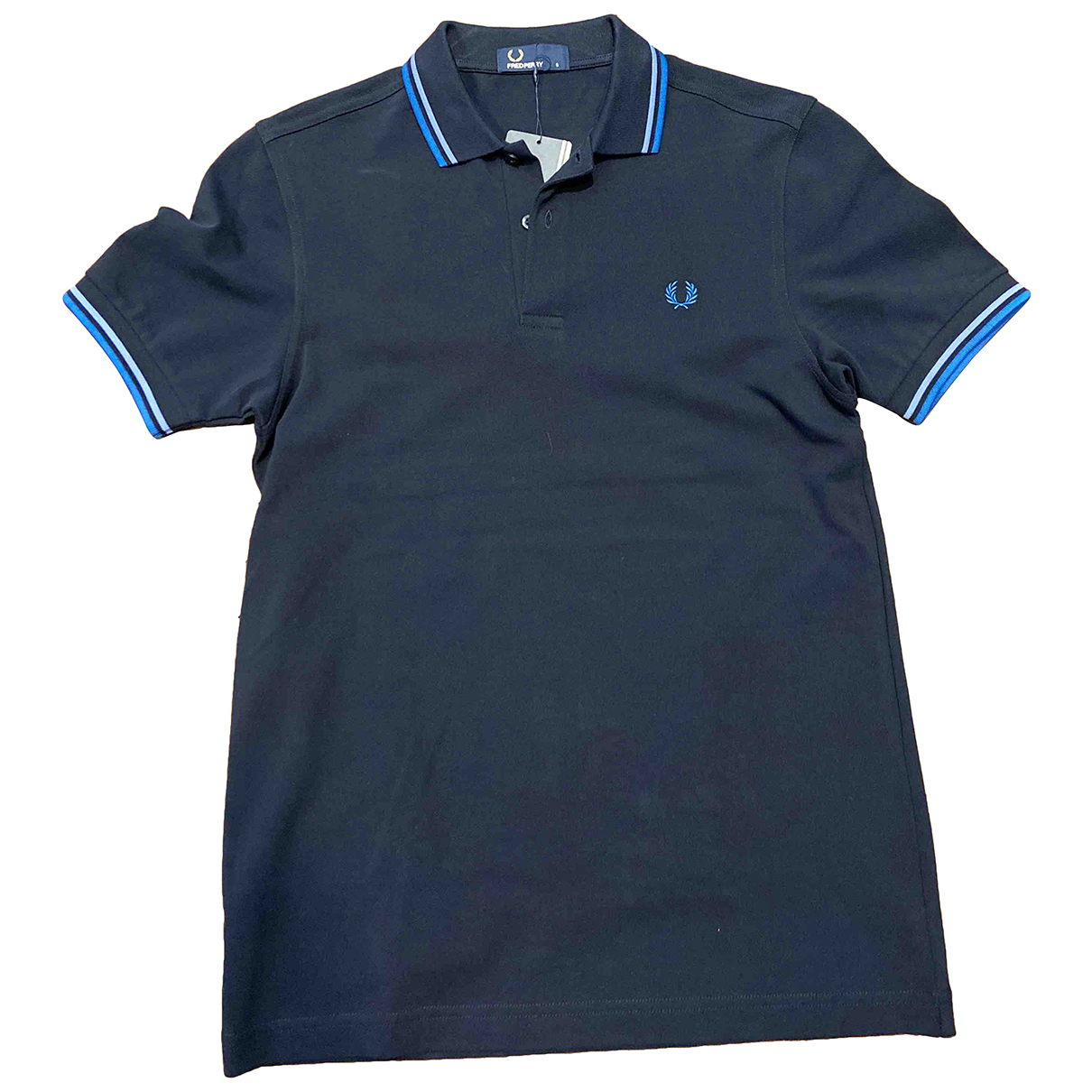 Fred Perry \N Blue Cotton Polo shirts for Men S International