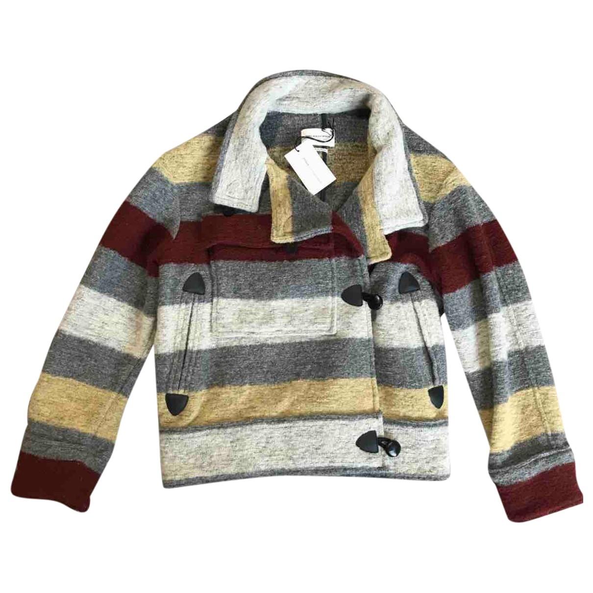 Isabel Marant Etoile \N Multicolour Wool coat for Women 34 FR